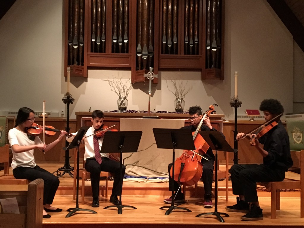 The Vivace Quartet performs Haydn's Op. 20 #2